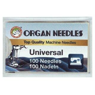 10 Organ Nadel System 332 für Sattlernähmaschinen Rundkolben  Stärke 120 LG
